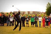 1500 žáků základních a středních škol z Hluboké nad Vltavou, Třeboně a Českých Budějovic se seznámilo s golfem jako vhodným koníčkem pro malé, velké i hendikepované.