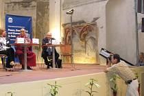 Vít Kršul na setkání s dalajlámou.