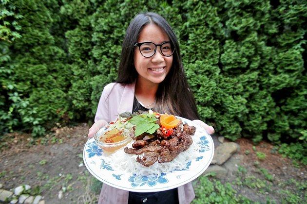 Hong Ngan Nguyenová, ale říká se jí Tien.