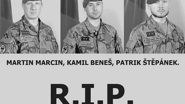 Jsou to hrdinové, reagují Jihočeši na smrt vojáků.