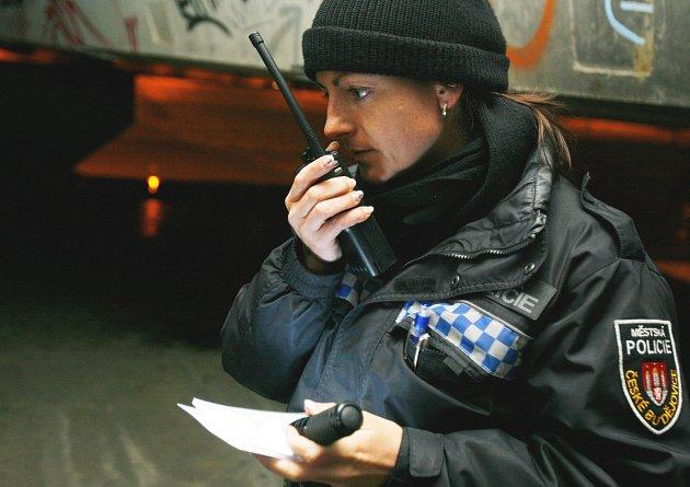 """Divokou honičku za sebou mají strážníci. Pronásledovali zloděje, který před nimi opustil auto i """"parťačku."""" Ilustrační foto."""