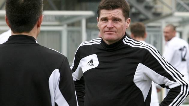 Trenér českobudějovických fotbalistů Pavol Švantner.