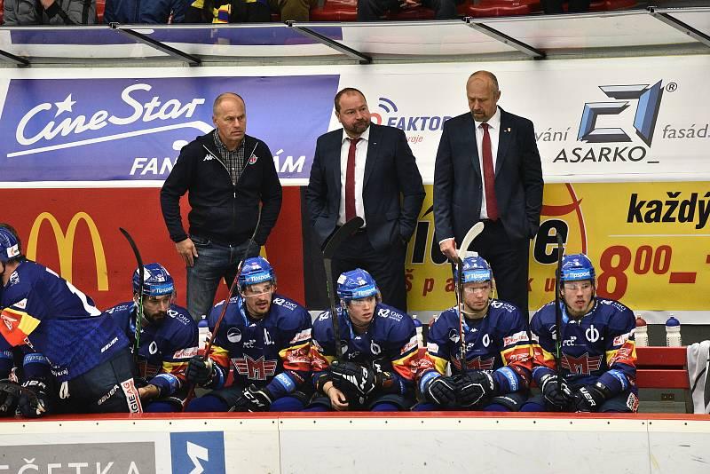 Hokejová Tipsport extraliga:  Motor ČB - Vítkovice
