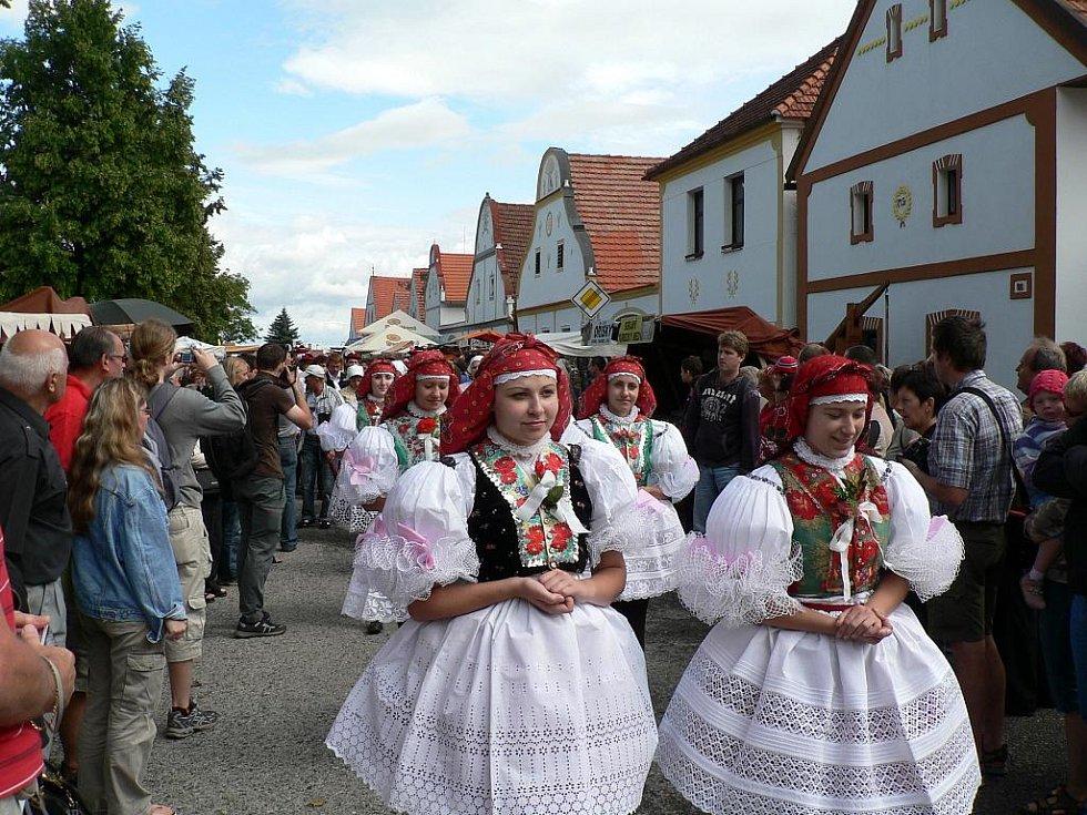 Selské slavnosti se v Holašovicích konaly již po dvanácté.