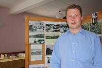 Josef Šupler je autorem výstavy o historii Rychnova u Nových Hradů. Na toto téma chce napsat i knihu.