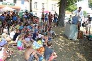 Při Libníčských slavnostech se v sobotu působivě prolínala současnost s historickými etapami.