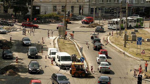 Do konce roku chce znát českobudějovická rada města budoucnost Mariánského náměstí. Ilustrační foto.