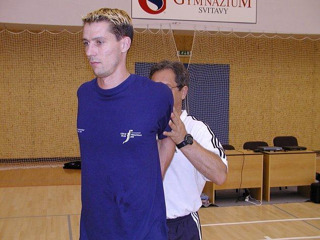 Jiří Novák ještě v reprezentačním týmu