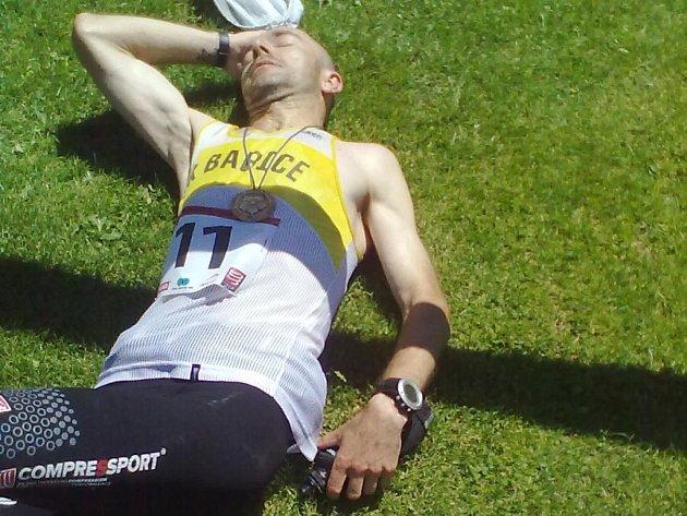 Radek Brunner toho měl po závodě dost