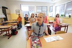 Základní škola v Dřítni má hodně dětí, proto musela přestavovat budovu, aby se dvě třídy prvňáčků do školy vešly.