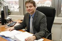 Martin Janeček z finančního ředitelství.