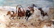 Alšova jihočeská galerie otevřela na Hluboké výstavu Ilja Repin a ruské umění. Nabízí přes 100 prací, potrvá do 27. září.