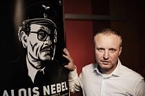 V Třeboni skončil 8. května festival Anifilm. Hlavní cenu získal film Alois Nebel, na snímku jeden z tvůrců Jaromír 99.
