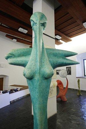 Sofochyto je název výstavy, která ovíkendu začala vbechyňském Mezinárodním muzeu keramiky. Svá díla představují fotograf Ivo Hajn a sochař Petr Fidrich.