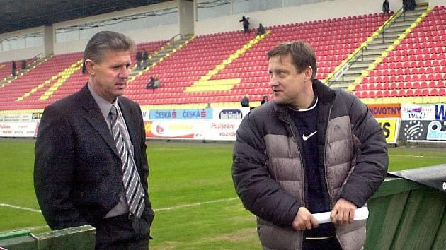 Dle kuloárních zpráv by Jiřího Kotrbu na postu hlavního trenéra Dynama mohl vystřídat i Jozef Chovanec.