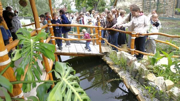 Novou expozici amerických zvířat otevřela v pondělí Zoo Ohrada v Hluboké nad Vltavou.