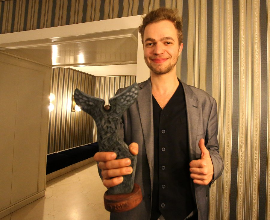 Jihočeská Thálie zná své vítěze. Na snímku Tomáš Havlínek.