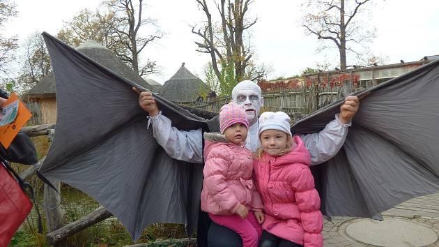 Strašidelná zoo 2017 v Hluboké nad Vltavou.