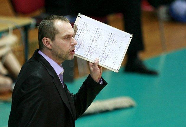 KONEČNĚ ZÁPAS. Kouč Jan Svoboda už vyhlíží první ostrou prověrku v rámci přípravy Jihostroje na příští sezonu.