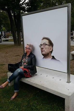 Umění portrétu vparku.