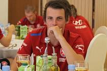Odchovanec jihočeského fotbalu Milan Nitrianský už je klokanem.