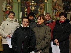 Jankovský sbor zpívá ve stejném složení už pátým rokem.