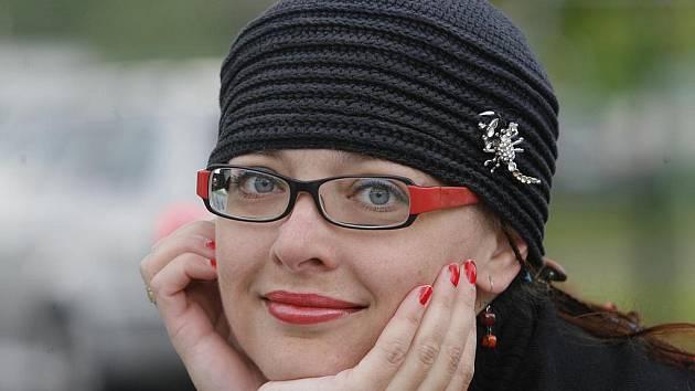 Moderátorka Bohdana Majerová z Českého rozhlasu České Budějovice.