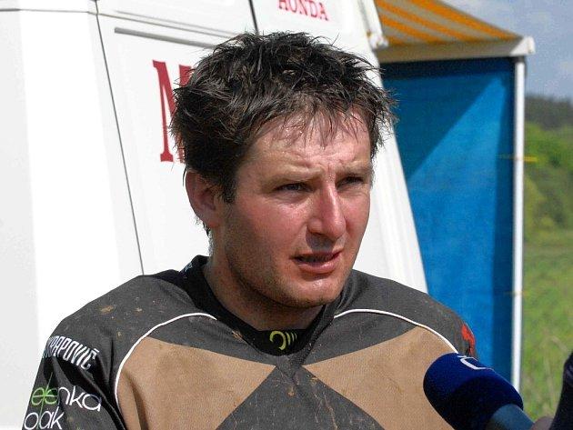 Petr Masařík byl v Netolicích nejlepší.