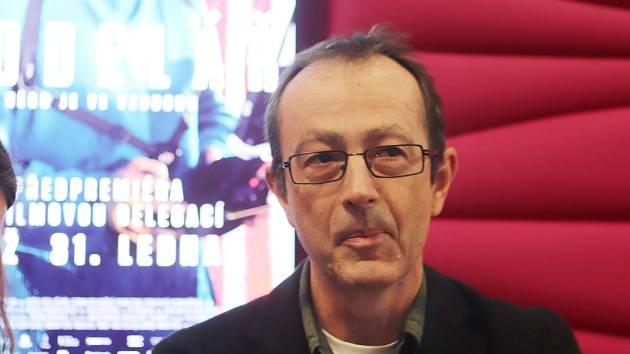 Předpremiéra filmu Modelář v kině CineStar v českobudějovickém IGY centru. Film režíroval Petr Zelenka.