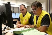 Havarijní štáb elektrárny se v úterý sešel kvůli fiktivní nehodě, jež vznikla v důsledku živelní pohromy.