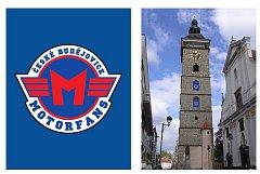Podpořit hokejisty z českobudějovického Motoru na cestě za návratem do nejvyšší hokejové soutěže chtějí členové motoráckého fanklubu. Požádali radní o svolení, aby mohli do oken Černé věže umístit vlajky s logem Motoru, jak naznačuje vizualizace.