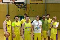 To nejlepší na konec! Basketbalisté Legends (na snímku) se v pátek střetnou s Tigers České Budějovice. Uzavřou sezonu bez porážky? První vzájemný duel rozhodlo až prodloužení.