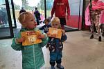 Bambini Run na letišti v Českých Budějovicích