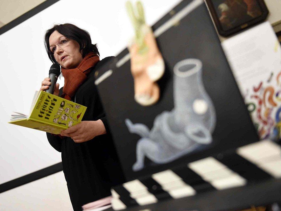 Festival Anifilm, který v Třeboni promítl 405 animovaných snímků z celého světa, ocenil nový film Charlieho Kaufmana s názvem Anomalisa. Na snímku animátorka Galina Miklínová, která představila ukázky z filmu Lichožrouti, jenž půjde do kin v říjnu.