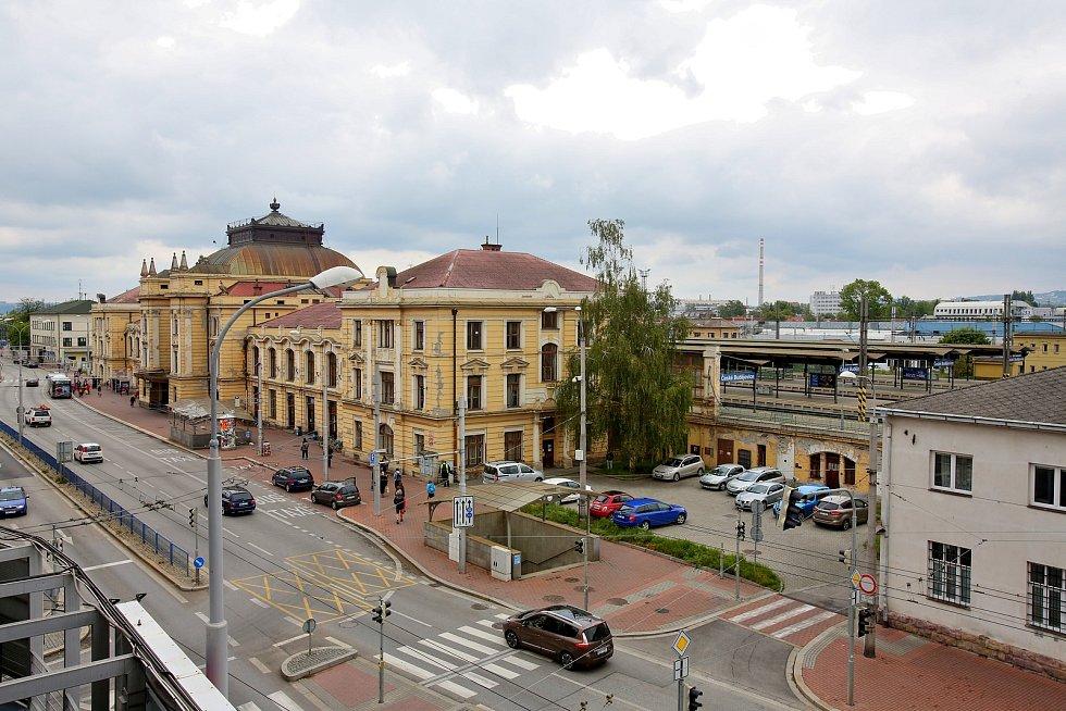 Českobudějovické vlakové nádraží čeká rekonstrukce.