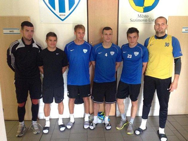 Nové tváře na pondělním srazu druholigového FC MAS Táborsko.