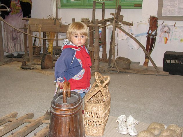 Muzeum Kojákovice. Expozice venkovského života a vystěhovalectví do Ameriky.