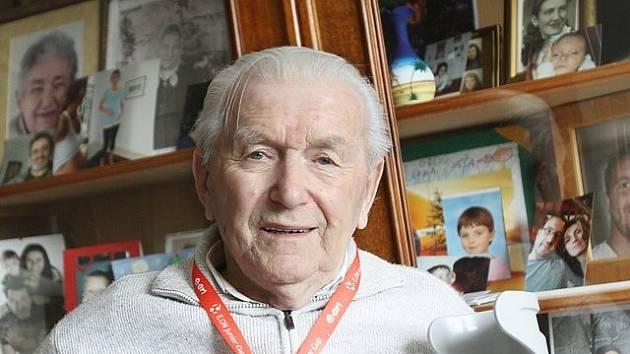 Milan Braunfuchs z Borovan prožil mnohá válečná utrpení.