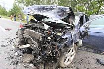 Nehoda u Ševětína se stala 3. července dopoledne.