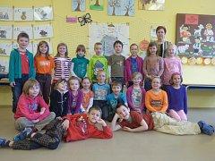 Do své třídy nás pozvaly děti z 1. A Základní školy Hlinecká.