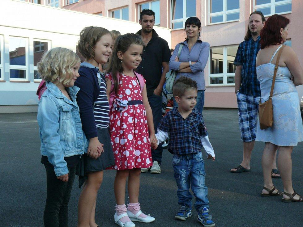 První školní den v ZŠ a ZUŠ Bezdrevská 3