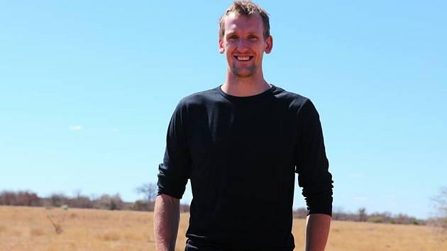 Jan Brett na návštěvě Afriky.