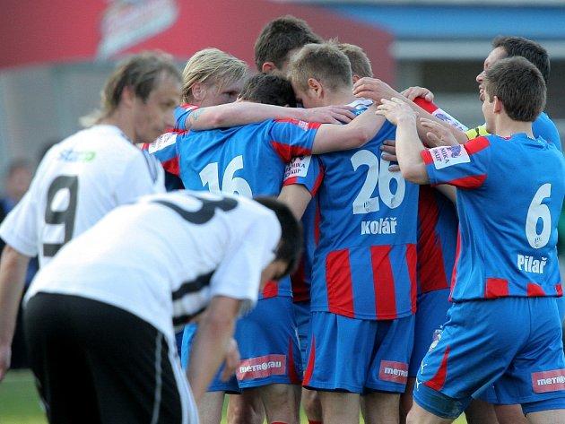 Plzeň se radovala, fotbalisté Dynama smutnili.