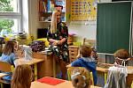 Ukončení školního roku v ZŠ Boršov nad Vltavou na Českobudějovicku.