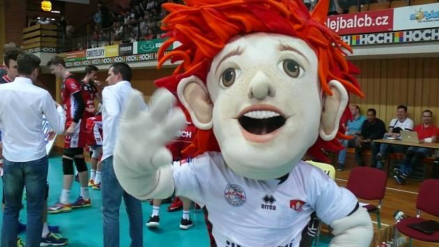 Jihostroj - Karlovarsko, semifinále extraligy volejbalistů
