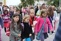 První školní den v Českých Budějovicích