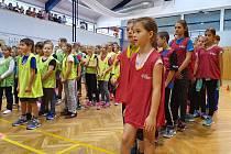 Do Základní školy Na Sadech v Třeboni dorazili olympionici.
