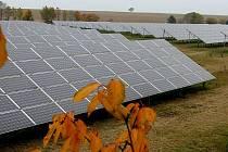 Solární elektrárna. Ilustrační foto.