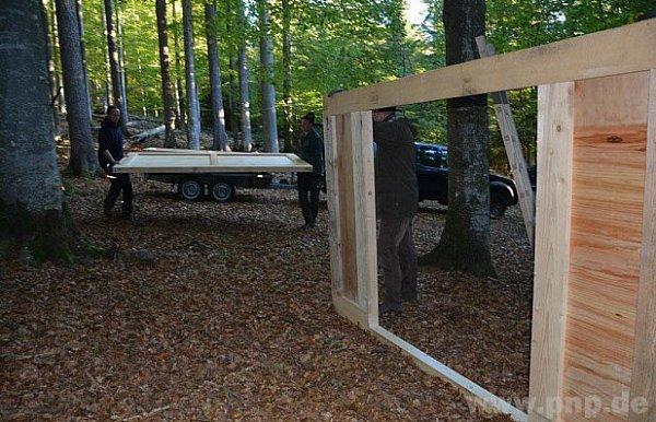 VBavorském lese stavějí pasti na černou.