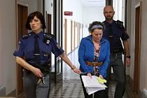 Radka H. je obžalovaná z vraždy svého bývalého manžela. V chatě nedaleko Pištína ho bodla nožem.
